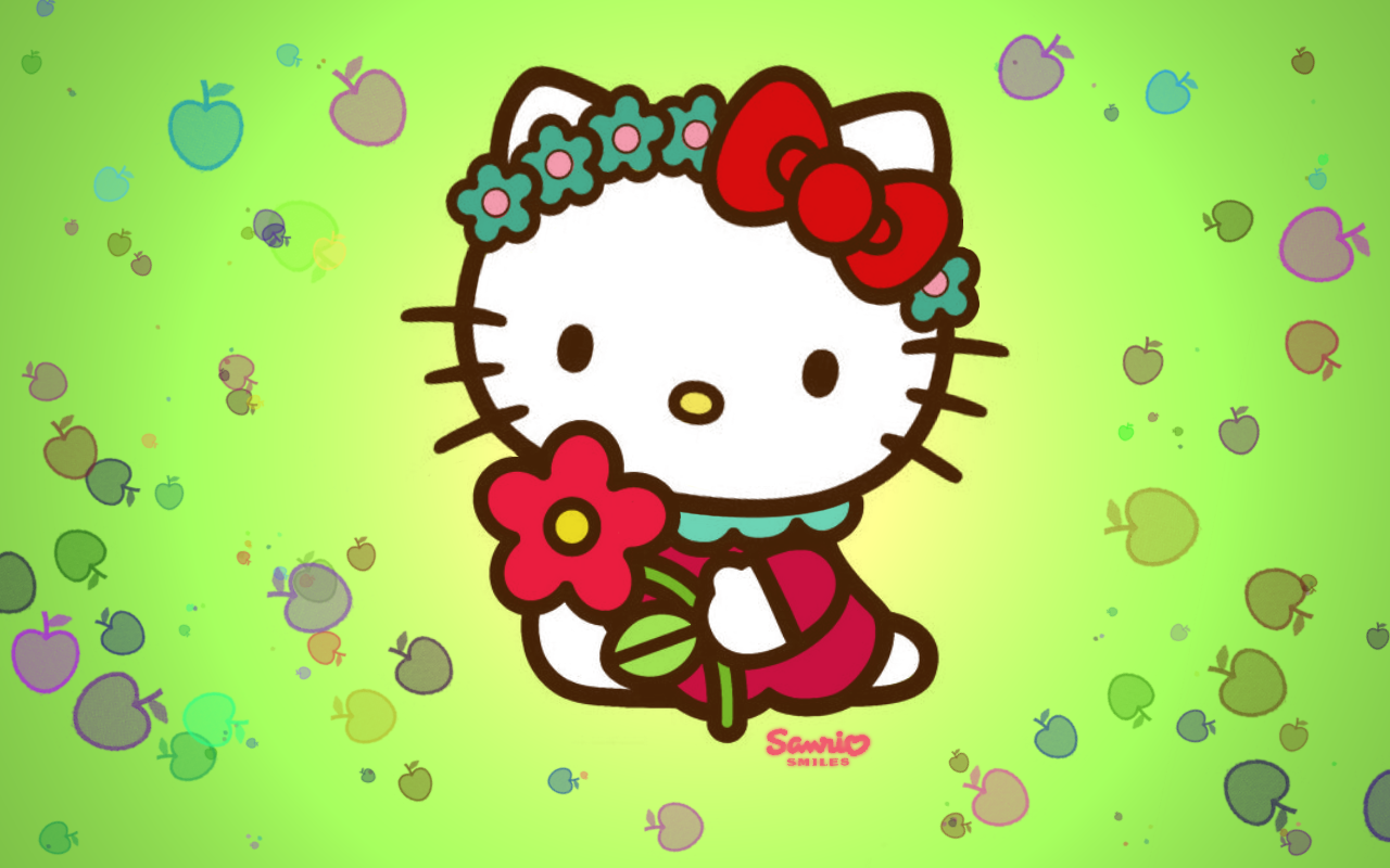 75 ] Hello Kitty Hd Wallpaper Free On WallpaperSafari