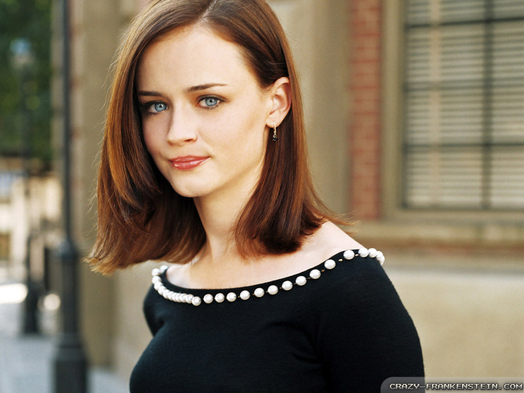 Alexis Bledel classy Female Beautiful American Germany Italy Women 1024x768