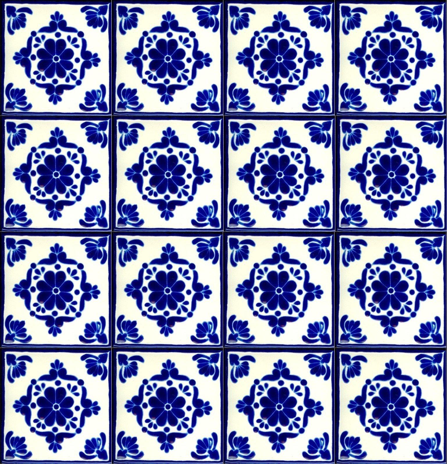 Spanish Tile Design 1537x1594