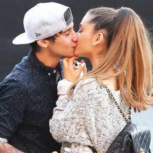Ariana Grande Caught Kissing Ex Boyfried Jai Brooks 500x500