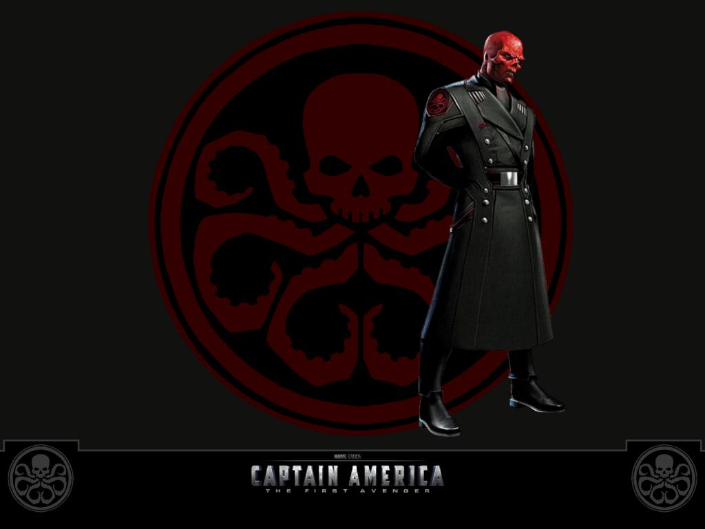 49+] Marvel Red Skull Wallpaper on