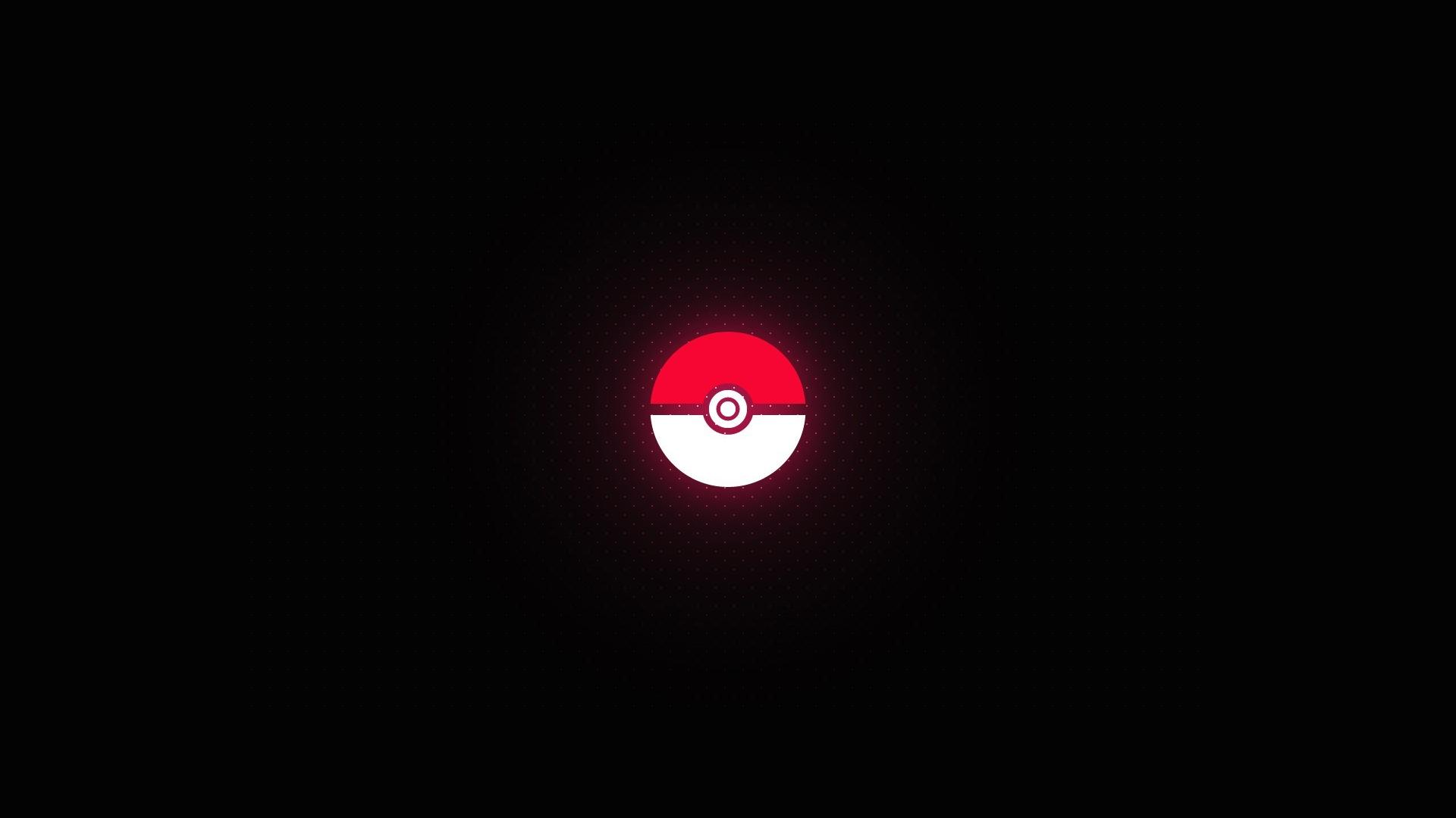 Pokemon minimalistic pokeball wallpaper 28852 1920x1080