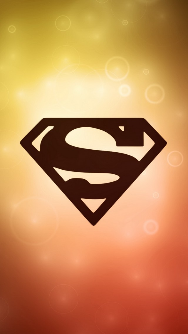 Superman logo iPhone 5S Wallpaper iPhone 5s Wallpapers and 640x1136