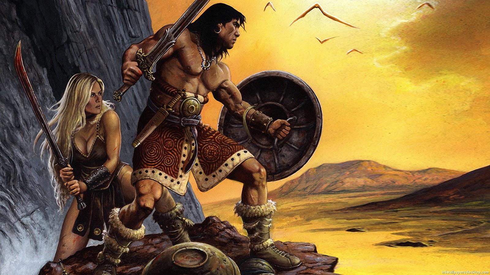 Record of a baffled spirit Conan the Barbarian the 1600x900
