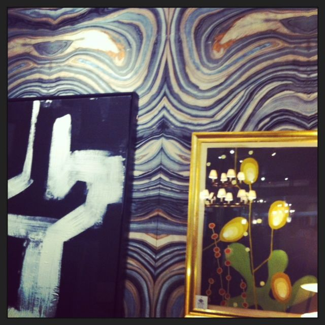 Harbinger showroom in Los Angeles Robert Crowder wallpaper I DIE 640x640