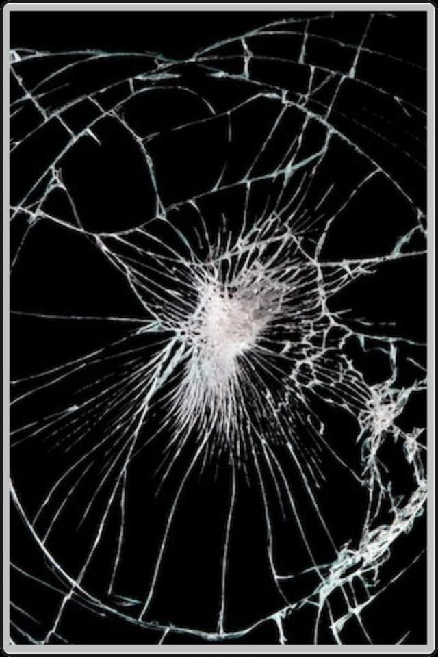 Broken Mobile Screen 3d Wallpaper