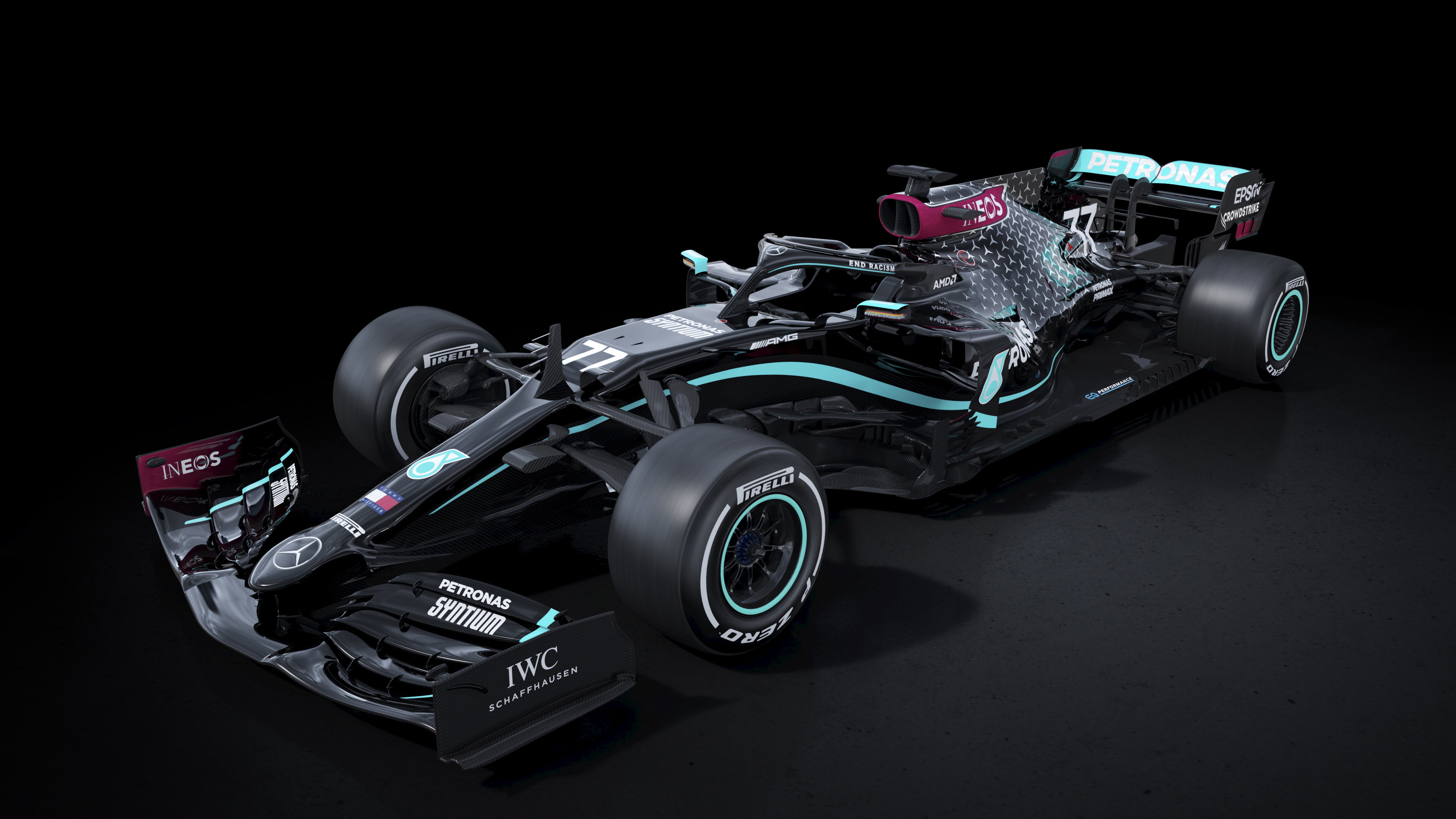 Mercedes AMG F1 W11 EQ Performance 2020 4K 2 Wallpaper HD Car 3840x2160