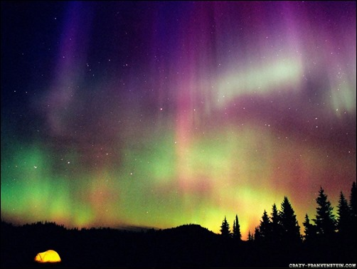 Northern Lights Screensaver MORE INFO 502x378