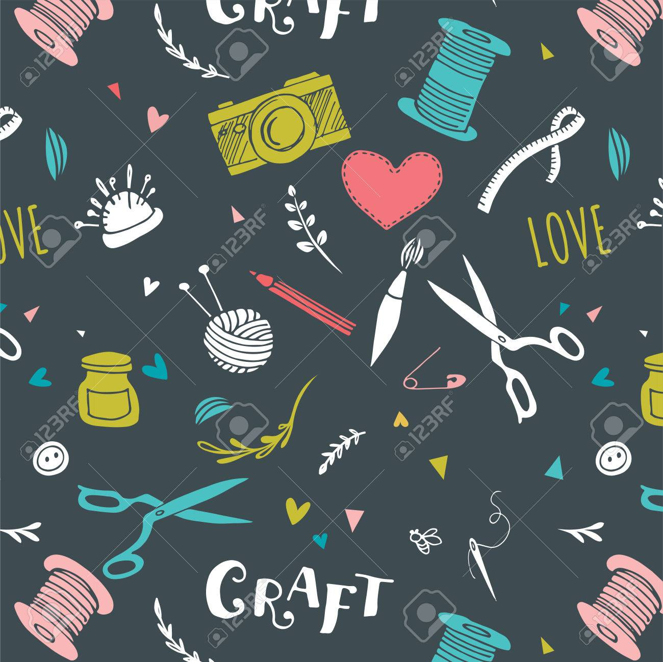 Free Download Handmade Crafts Patterns And Vector Hand Drawn Background Royalty 1300x1299 For Your Desktop Mobile Tablet Explore 31 Crafts Backgrounds Crafts Wallpaper Wallpaper Crafts Pinterest Wallpaper Crafts