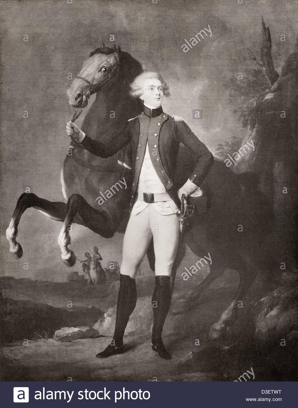 Marquis De Lafayette Marie Joseph De Motier Stock Photos Marquis 1016x1390