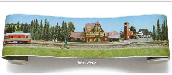 Train Wallpaper Border 1 575x250