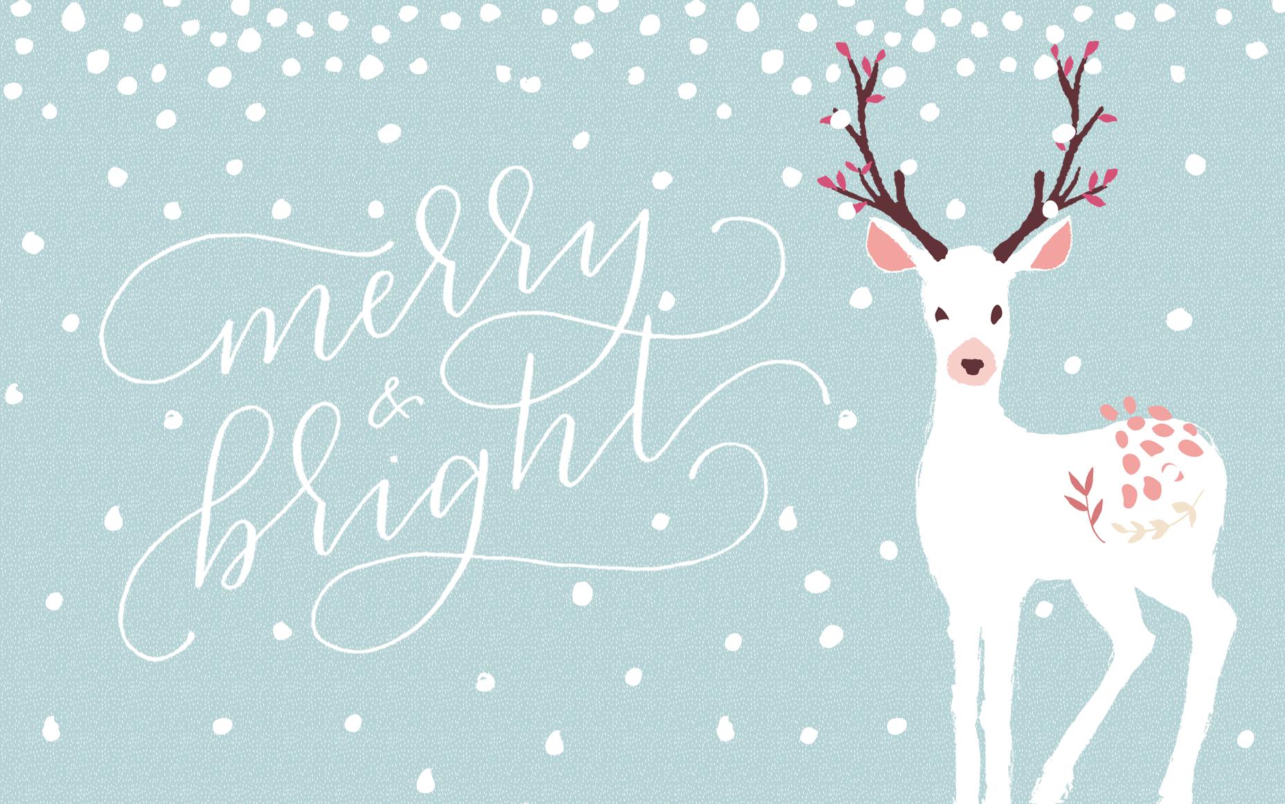 December Wallpaper Paper Honey Christmas background desktop 1856x1161