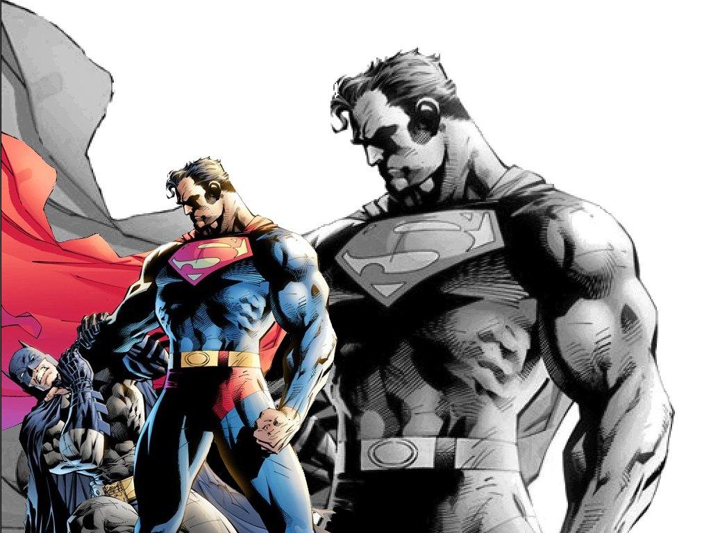 Download Superman Vs wallpaper superman strangles batman 1024x768