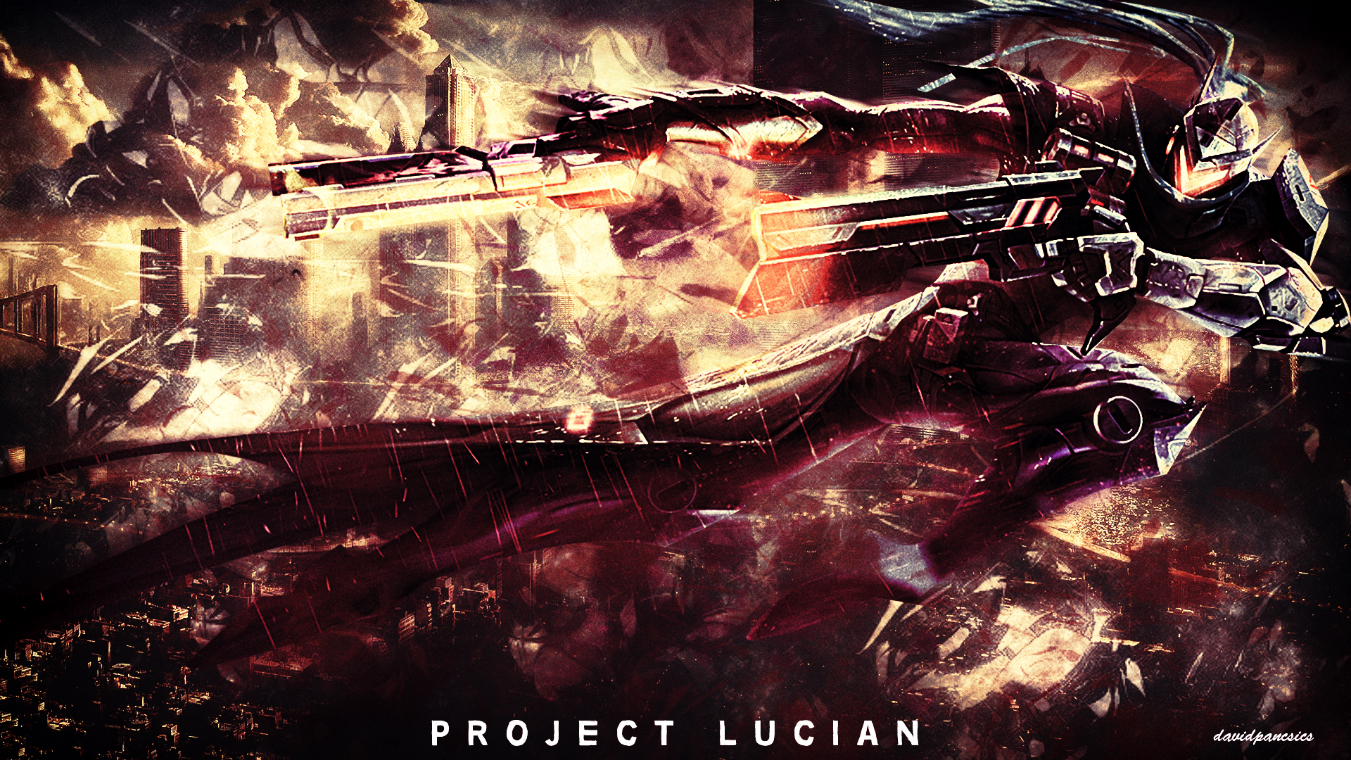 League Of Legends   PROJECT Lucian wallpaper by pancsicsdavid on 1920x1080