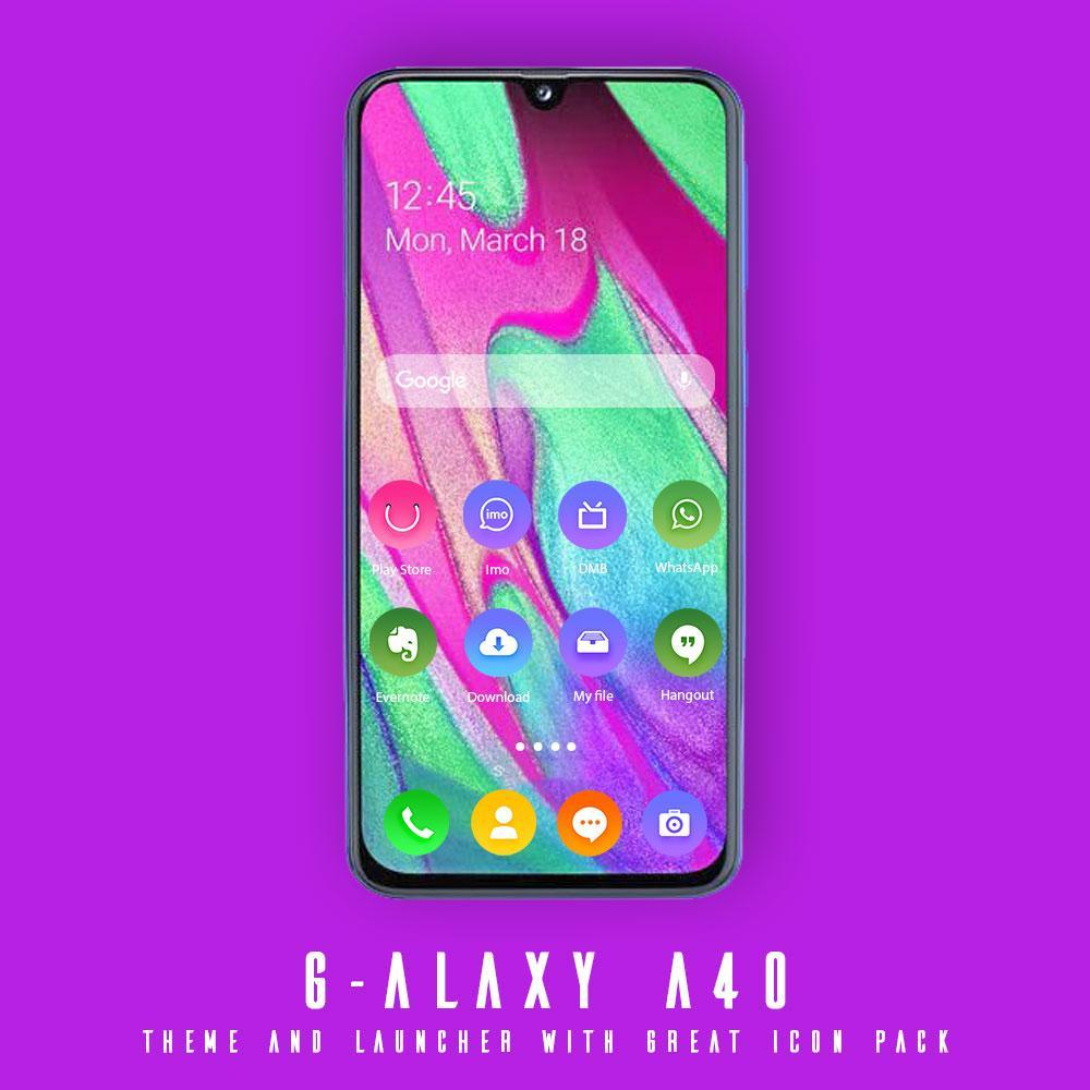 Wallpaper theme for galaxy A40 for Android   APK Download 1000x1000