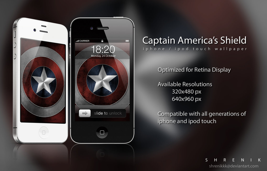 Captain Americas Shield by ShRENiKKK 1117x715