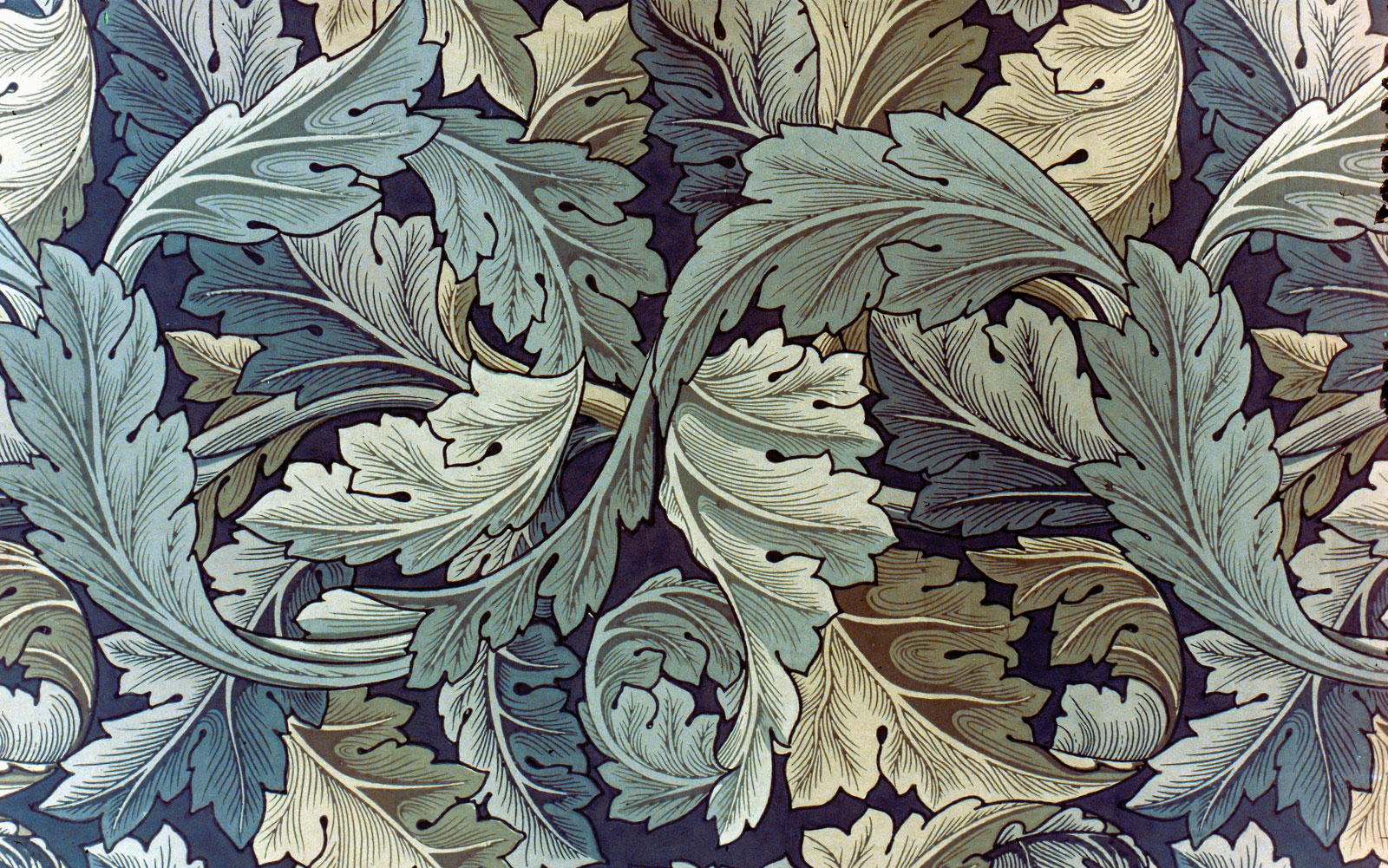 Arts and Crafts Movement Britain acanthus ornamental motif 1600x1001