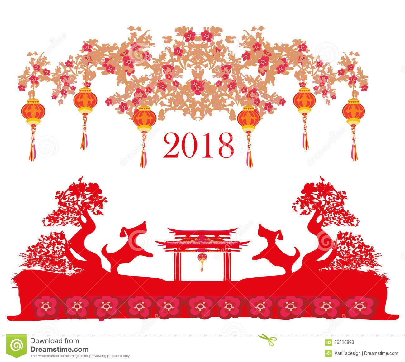 Happy Chinese New Year 2018 Wallpapers Wallpapersafari