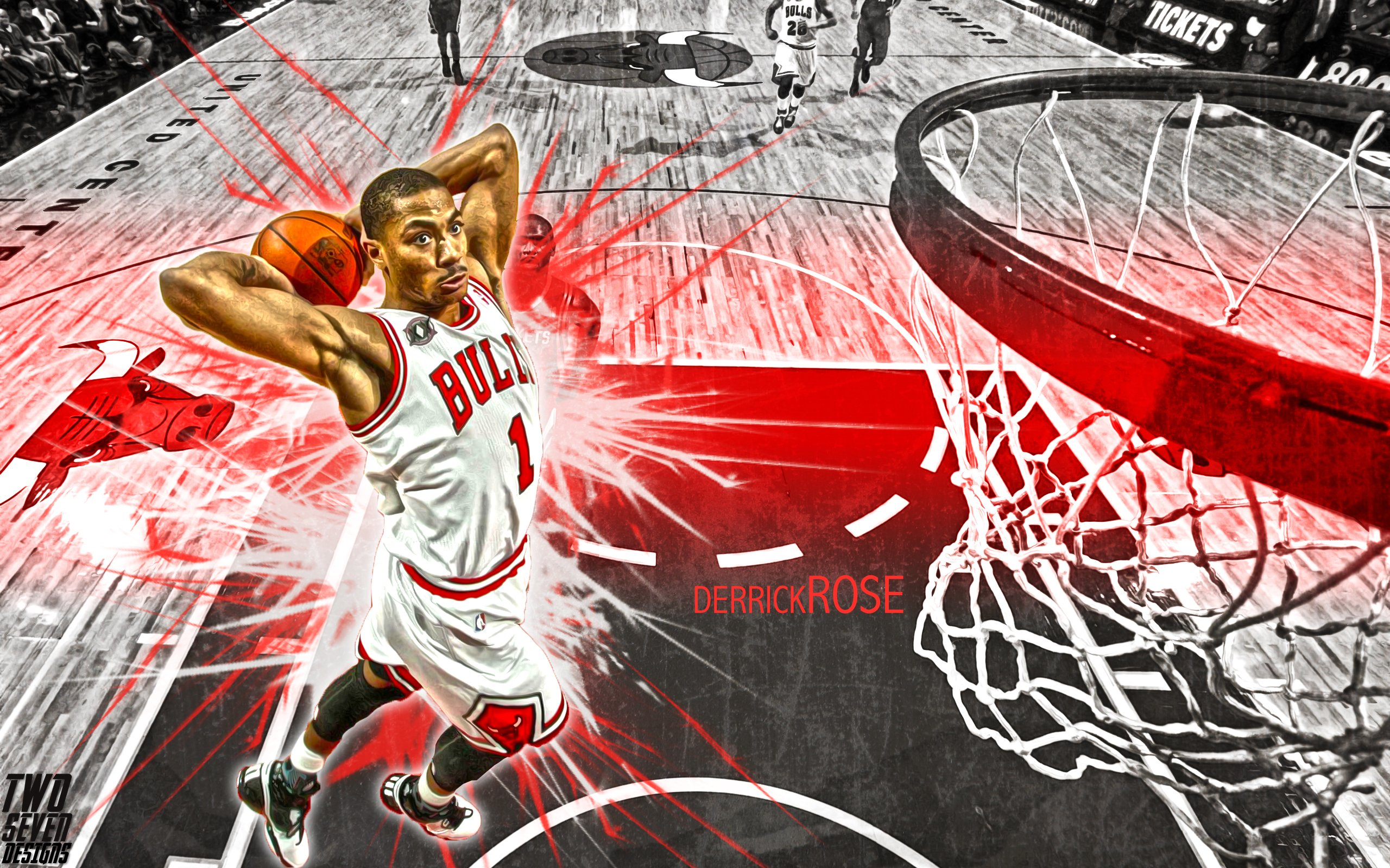 Derrick Rose Wallpapers High Resolution and Quality Download 2560x1600