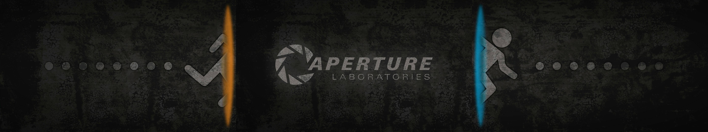 Background image 2 monitors - Portal 2 Dual Screen Wallpaper Gaming