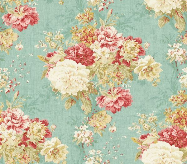 Waverly Fabrics Wallpaper Bedding 600x527