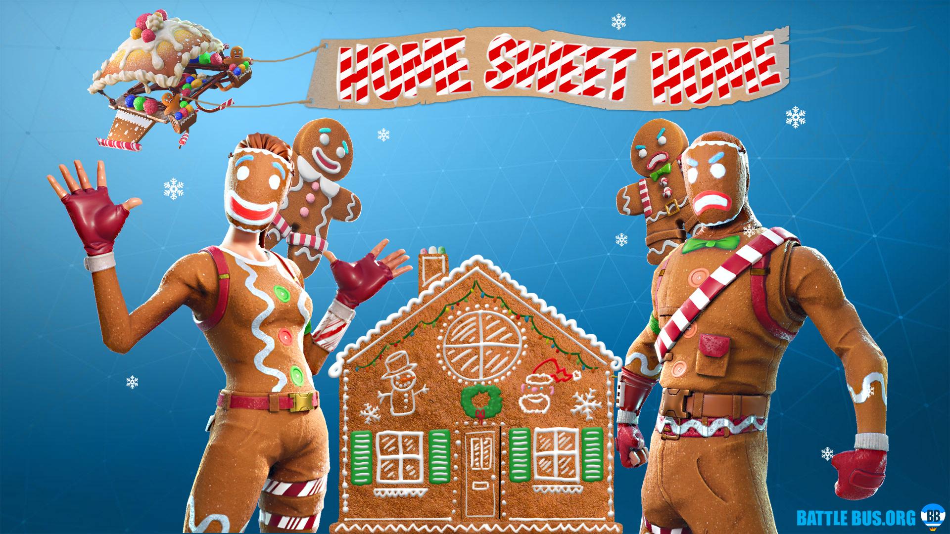 15 Fortnite Gingerbread Wallpapers On Wallpapersafari