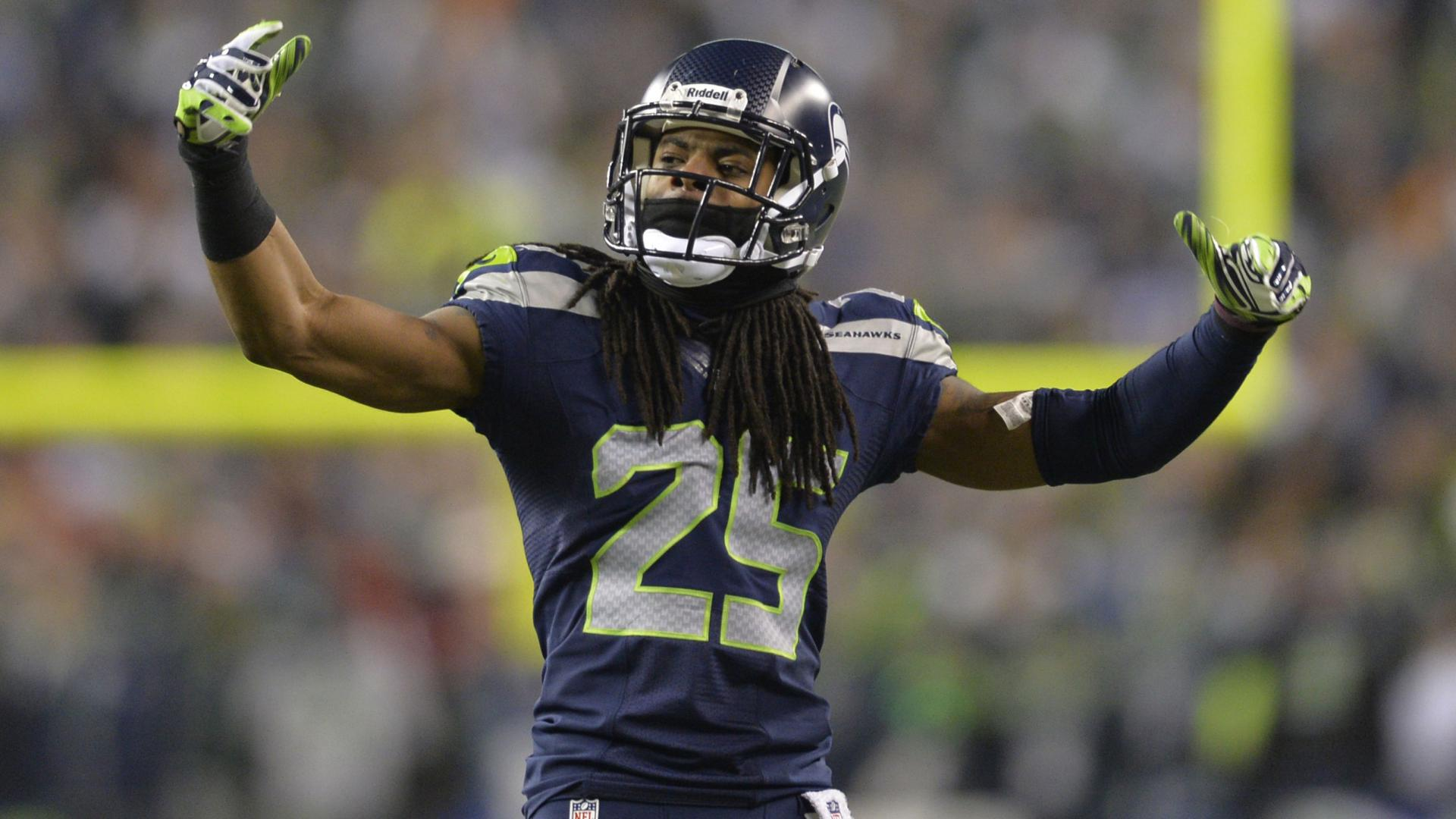 NFL Richard Sherman Richard Sherman Seattle Seahawks Seattle Seahawks 1920x1080