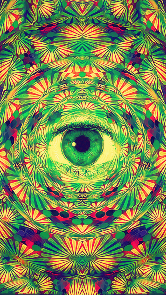 Psychedelic phone wallpaper wallpapersafari - Trippy nature wallpaper ...