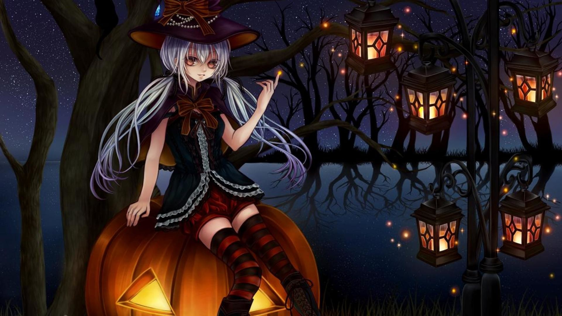 [46+] Gambar HD Anime Halloween Wallpapers on WallpaperSafari