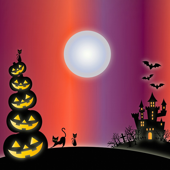 Halloween Background   image on Pixabay 720x720