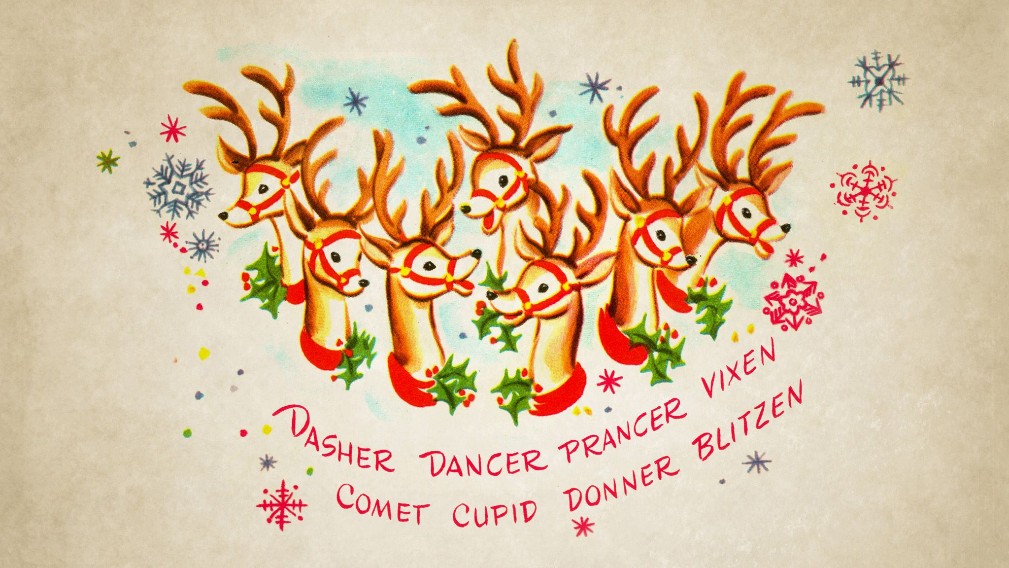 Retro Christmas Desktop Wallpapers   Top Retro Christmas 2048x1152