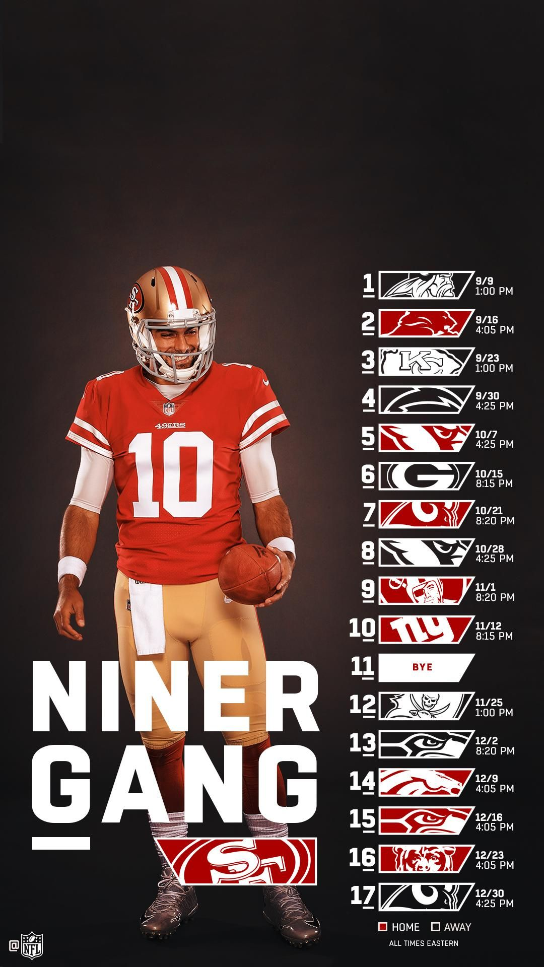 49ers Wallpaper in 2020 49ers San francisco 49ers football San 1080x1920