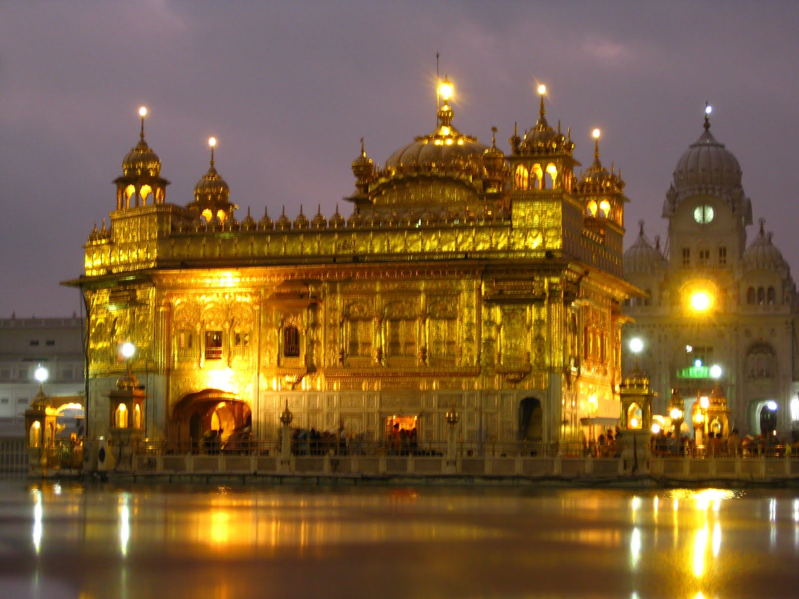 Download amritsar golden temple wallpaper 1600x1200 77 - Golden temple images hd download ...