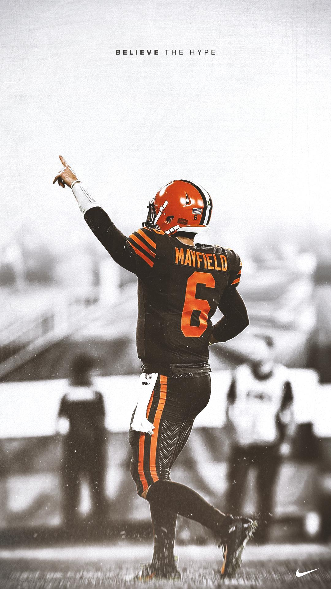 Victory Wallpaper 1 Baker Mayfield Browns 1080x1920