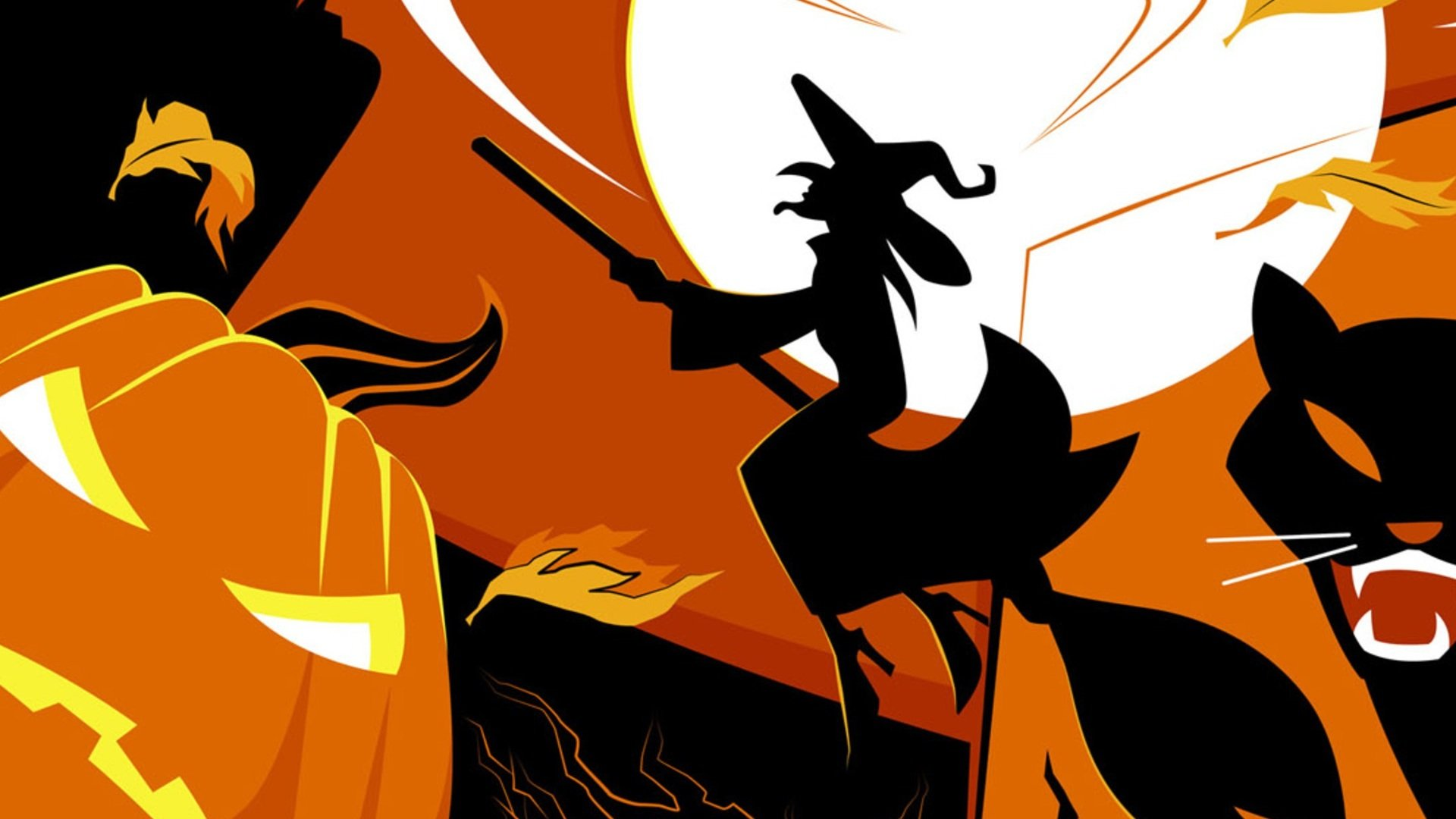 Halloween Wallpapers 75 Wallpapers Desktop Wallpapers HD 1920x1080