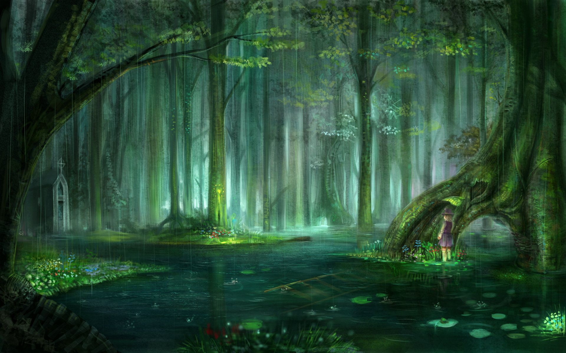 Free Download Wallpapers For Enchanted Forest Background