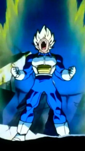 View bigger Vegeta DBZ Live Wallpaper for Android screenshot 288x512