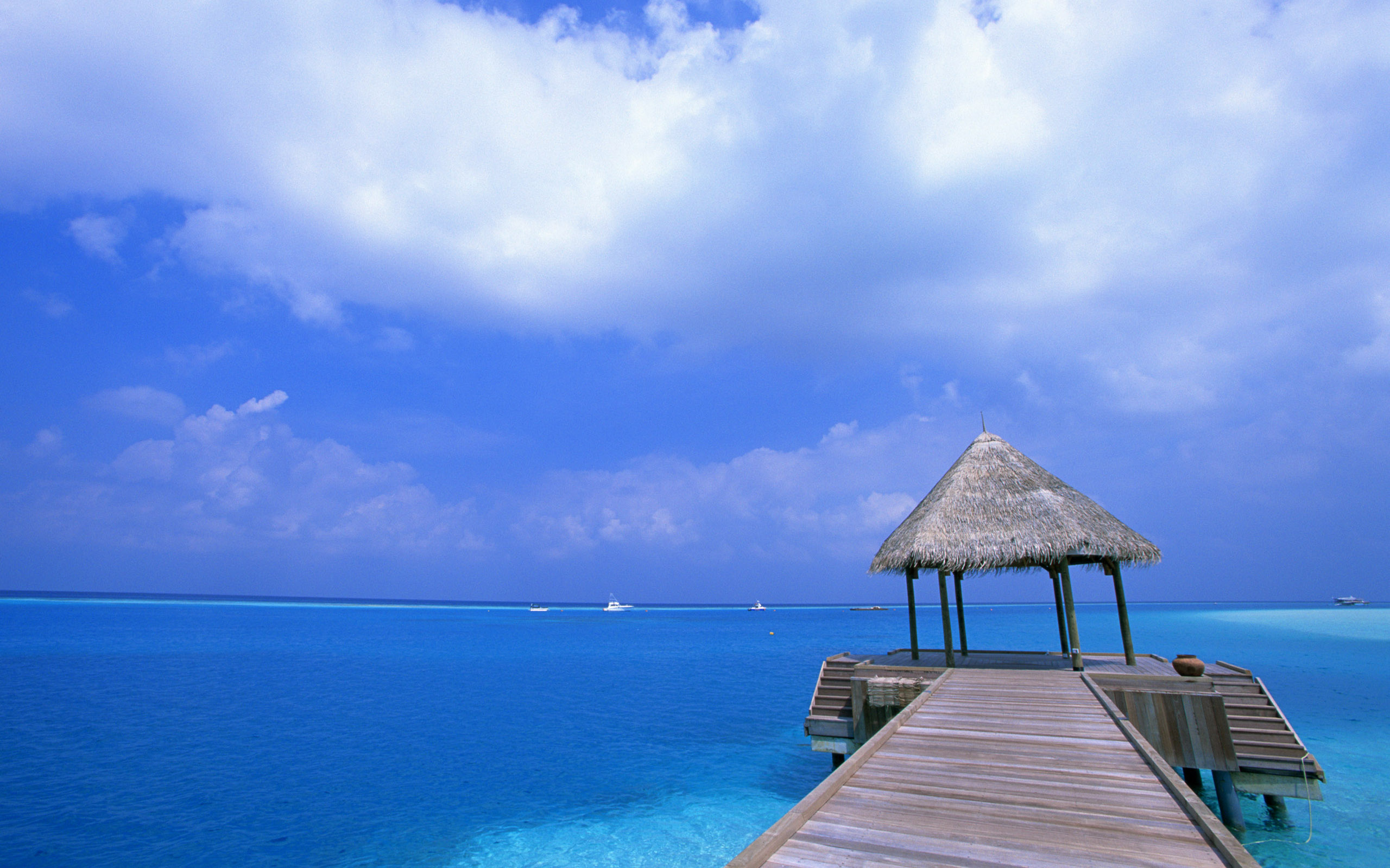 Blue Sky Beach Wallpapers HD Wallpapers 2560x1600