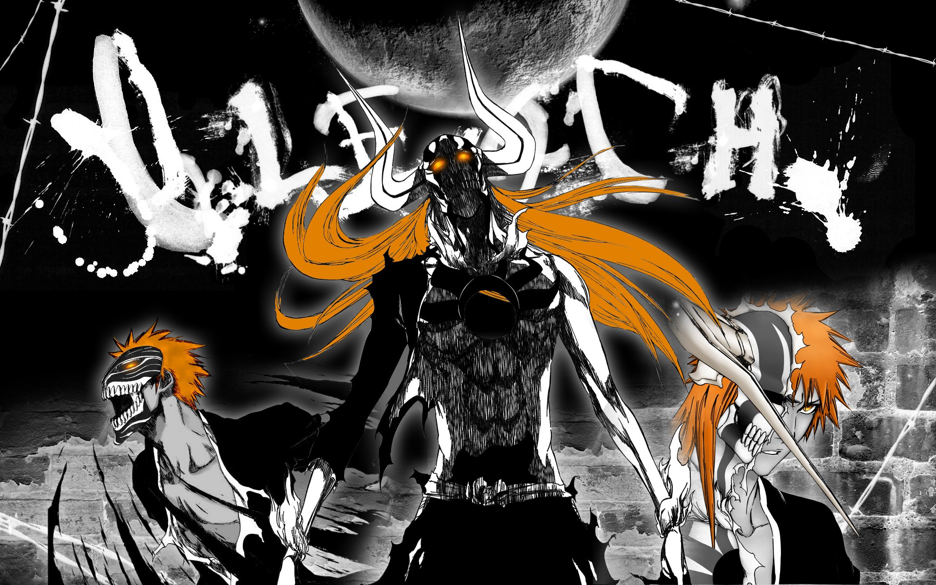 View and Download Hollow Ichigo Bleach Wallpapers and Images 1920x1200