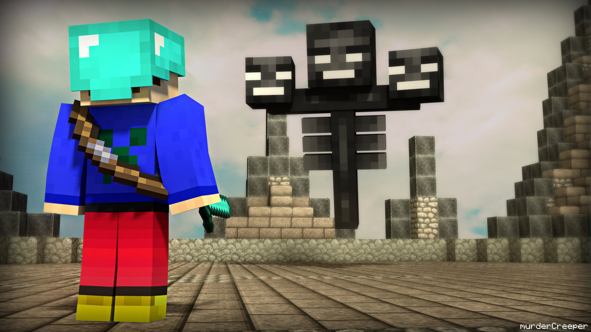 Free Download Minecraft Wither Wallpaper Wwwimgkidcom The
