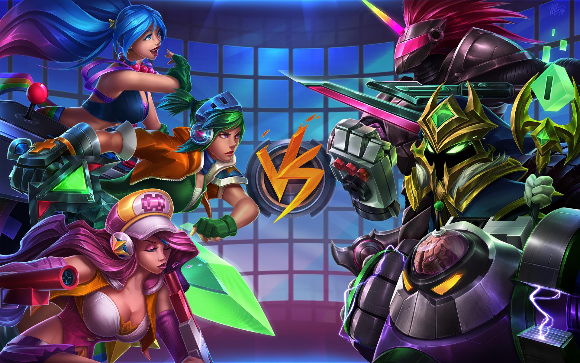 Lol Wallpapers: League Of Legends Arcade Wallpaper