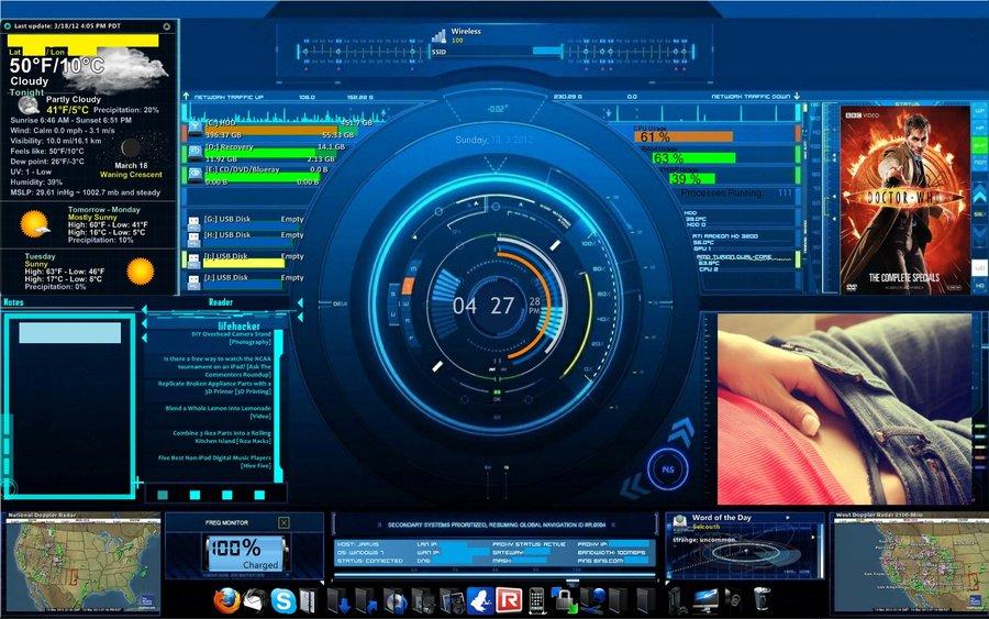 Jarvis desktop by InsertnameHERE702 900x563