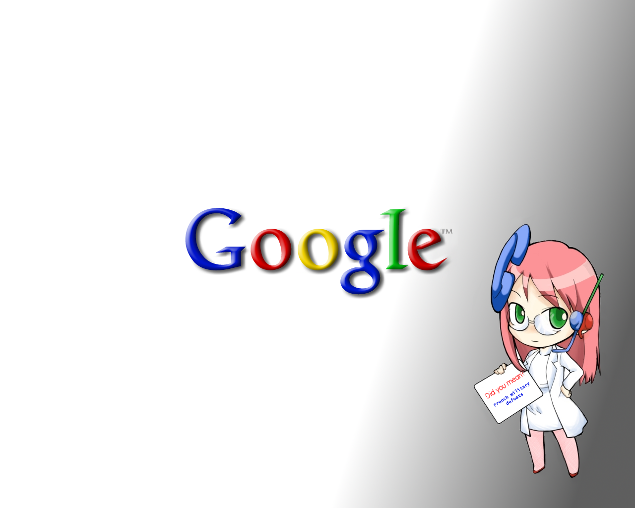 google anime girlpng 1280x1024