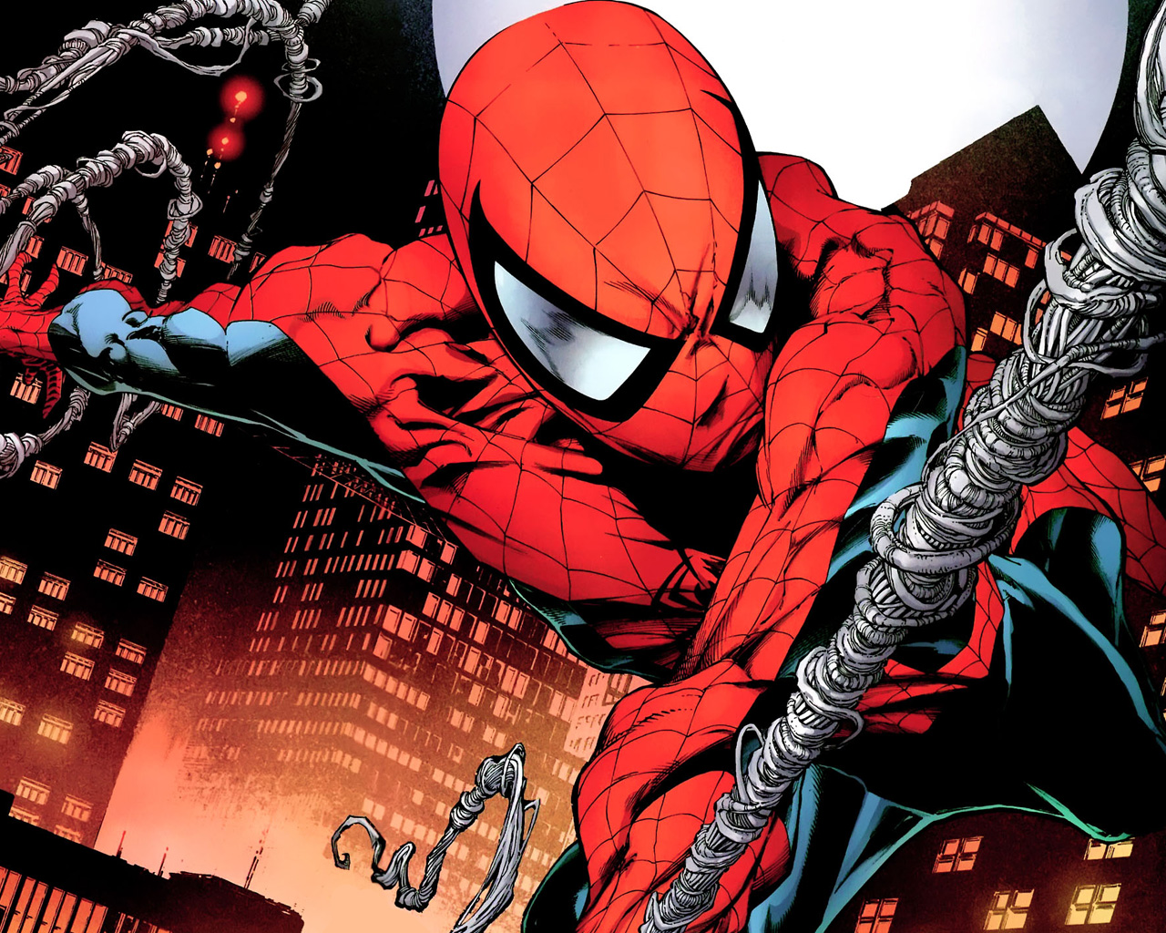Free Download Ultimate Spider Man Wallpaper 1280x1024 For Your