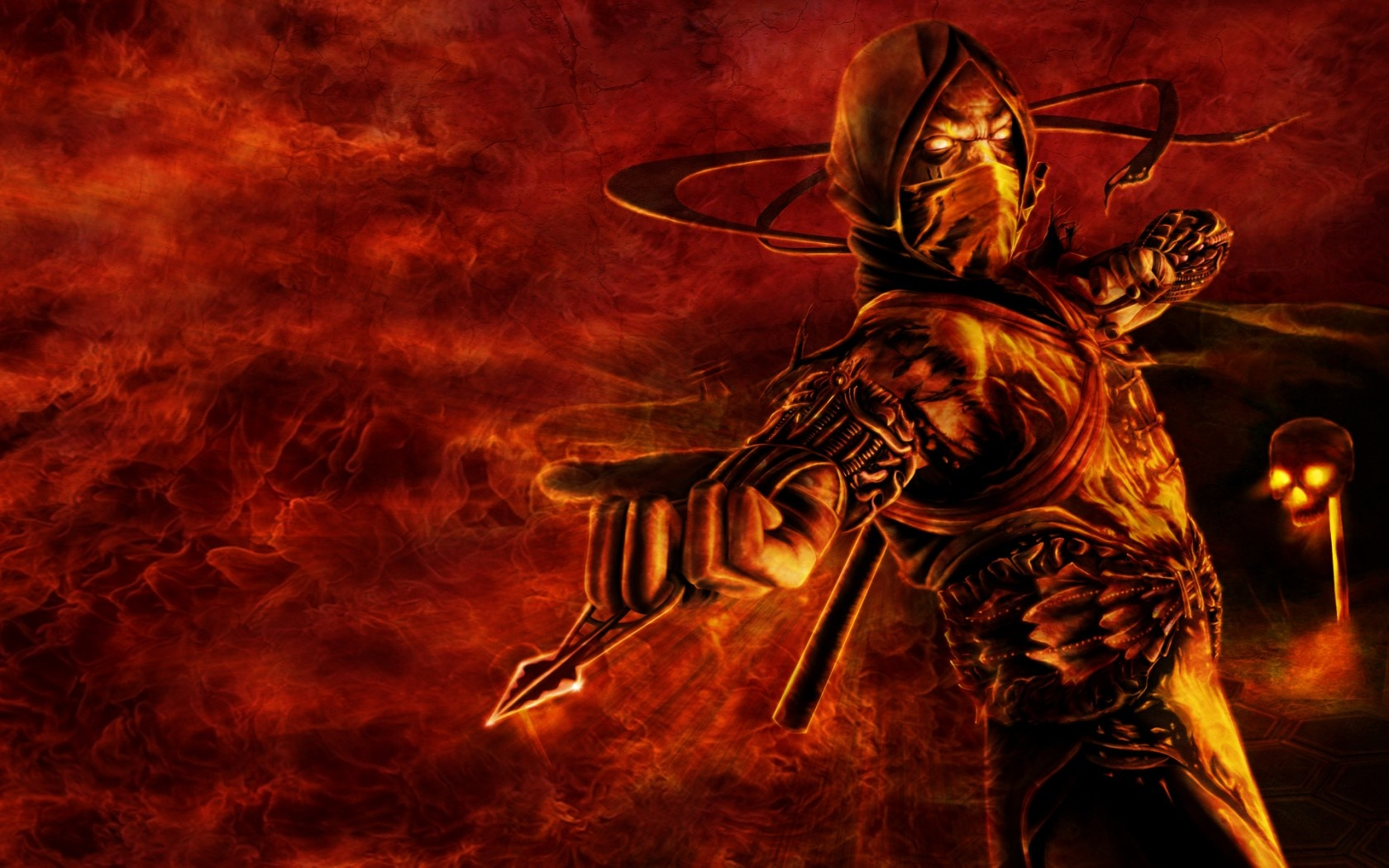 Scorpion Mortal Kombat 9 1680 x 1050 Download Close 1680x1050