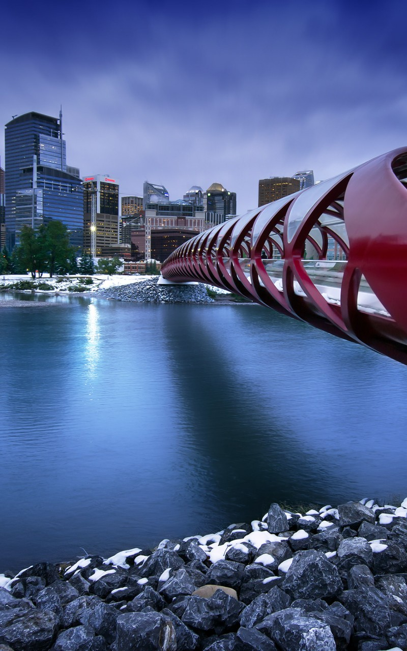 Peace Bridge HD wallpaper for Kindle Fire HD   HDwallpapersnet 800x1280