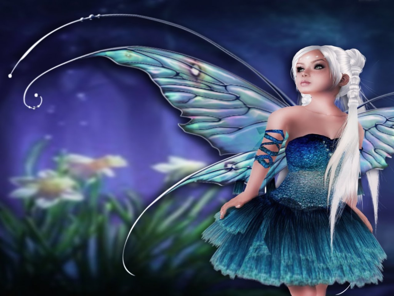 Free Download Fantasy Fairies Wallpaper Which Is Under The