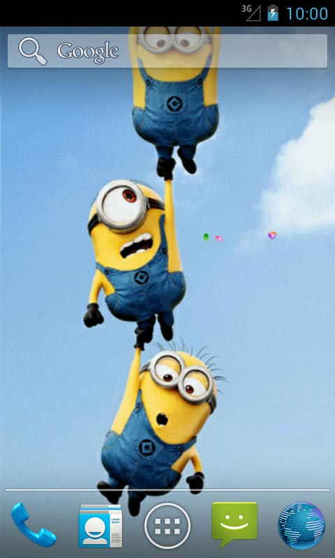 Download Funny Minions Live Wallpapers for your Android phone 480x800
