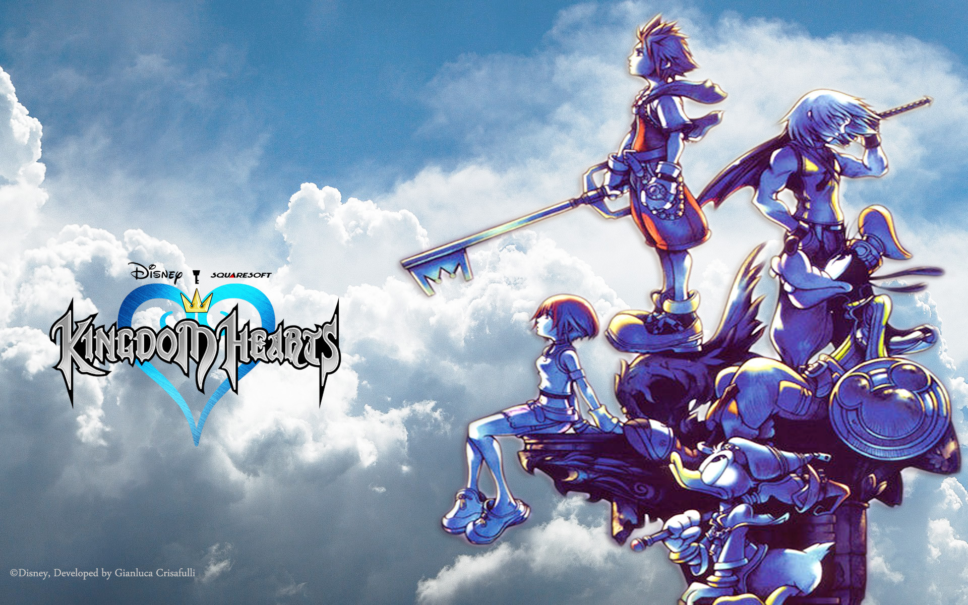 75 Kingdom Hearts Wallpaper Hd On Wallpapersafari