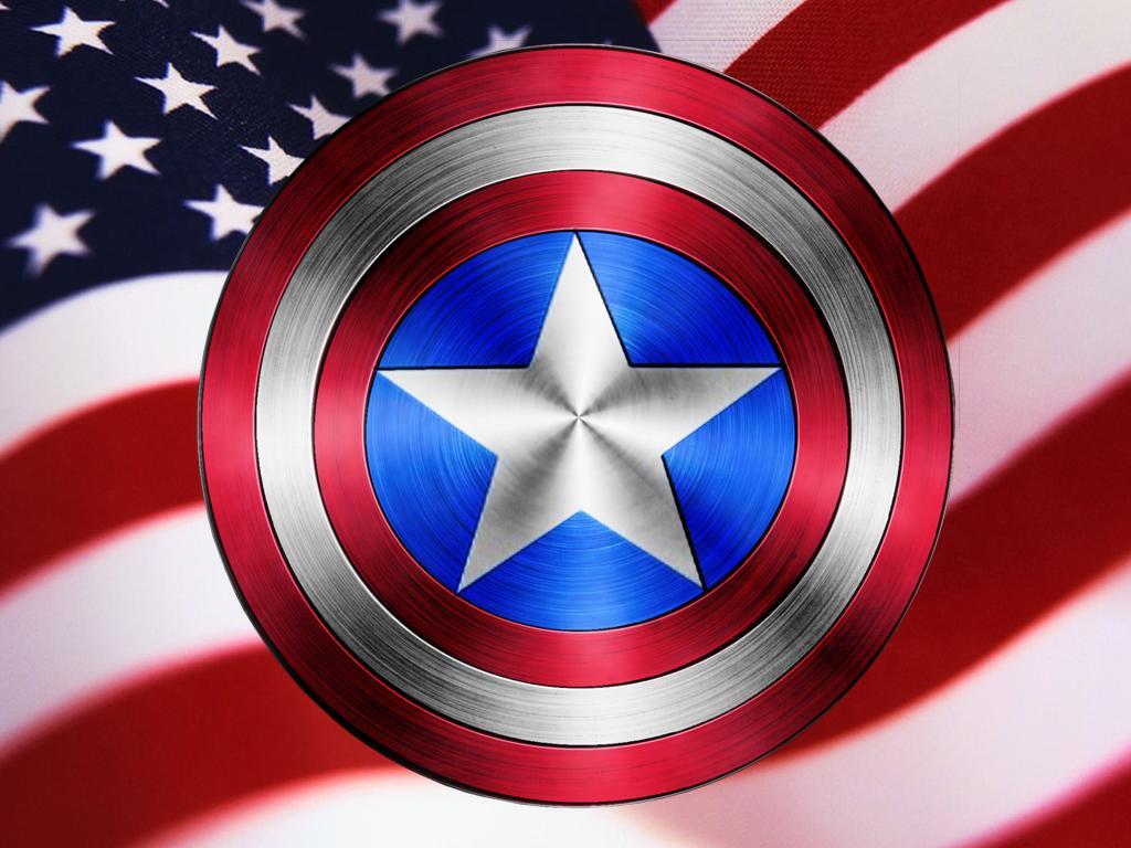 Captain America Shield Wallpaper Hd   1024x768 iWallHD   Wallpaper HD 1024x768
